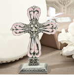 Baptism Favors for Girls Standing Cross