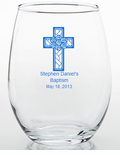 Baptism Favors Personalized Glass