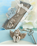 Baptism Key Chain Favors - Cherub