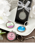Baptism Keychains Personalized Key Rings