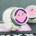Baptism Mini Candy Jar Favors Personalized Label