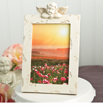 Baptism Picture Frame Favors - Cherub