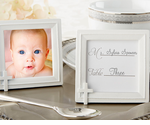 Baptism Picture Frame Place Card Holders