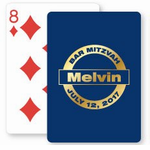 Bar Mitzvah and Bat Mitzvah Playing Cards
