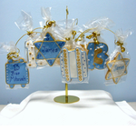 Bar Mitzvah Centerpieces Cookies & Stand