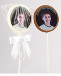 Barmitzvah Photo Chocolate Pop Party Favors