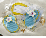 Beach Party Flip Flop Favors Luggage Tag