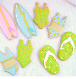Beach Theme Cookies Favors