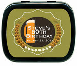 Beer Party Favors Custom Mint Tins