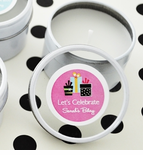Birthday Favor - DIY Candles