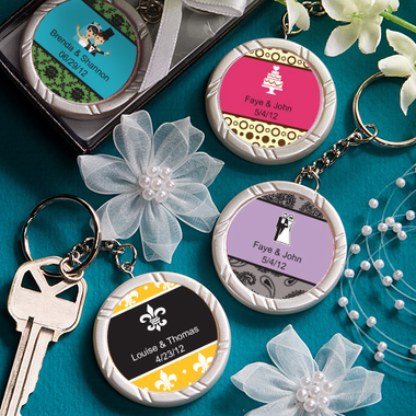 Birthday Favor Keychains