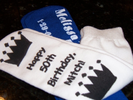 Birthday Grippy Socks Favors