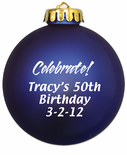 Birthday Ornaments
