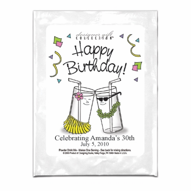 Birthday Party Favors Lemonade - Personalized