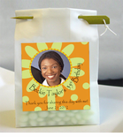 Birthday Photo Personalized Favor Bags