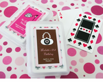 Birthday Playing Cards PERSONALIZATION ON LABEL ONLY