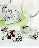 Black and White Theme Party Coasters