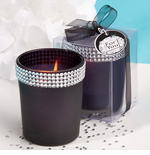 Bling Black Candles