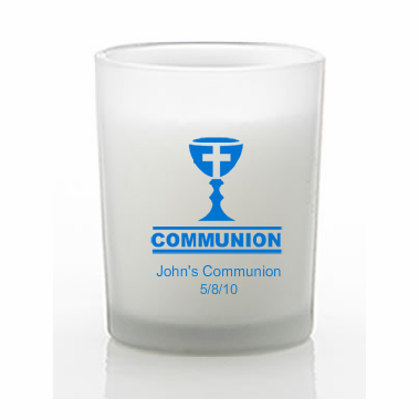 Boys Communion Favors Candles