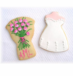 Bridal Shower Cookie Favors