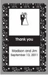Bride and Groom Wedding Favor Playing Cards