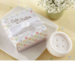 Button Favors Scented Soap