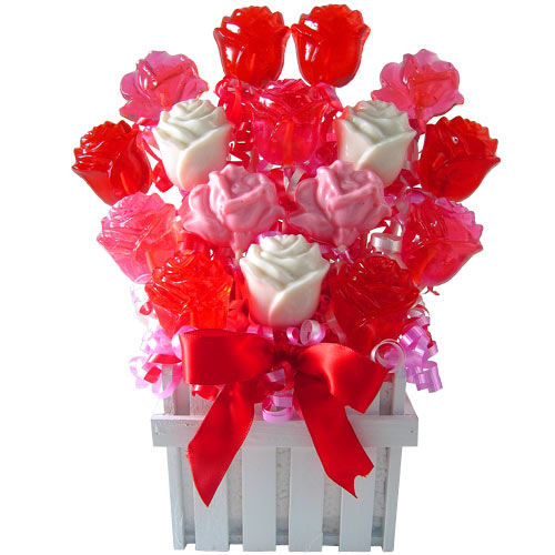 how to make a lollipop bouquet for a wedding