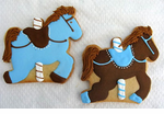 Carousel Favors Birthday Party Cookies