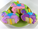 Carousel Theme Party Cookies