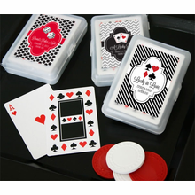 Casino Party Favors Deck - Personalization on Sticker ONLY