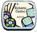 Casino Theme Favors Mint Tins