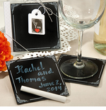 Chalkboard Theme Coaster Set