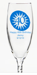 Champagne Favors for 40th Birthday Party