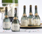 Champagne Party Favors - Blowing Bubbles (Set of 24 Bottles)