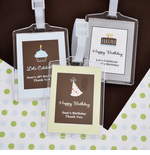 Cheap Luggage Tags Birthday Favors