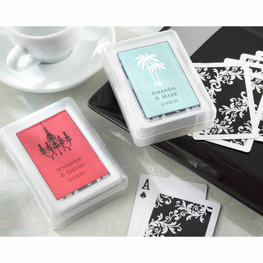 Personalised Wedding Gift Cheap : Wedding Favors ? Wedding Playing Cards ? Cheap Personalized ...