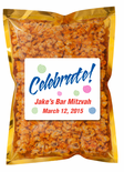 Cheese Popcorn Bar Mitzvah Favors