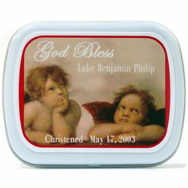 Cherub Favors Mint Tins