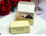 Chocolate Birthday Favors Truffles