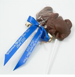 Chocolate Crab Lollipop