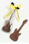 Chocolate Electric Guitar Favors