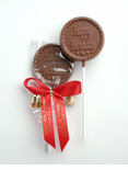 "Chocolate ""Happy Birthday""  Lollipop Favor"
