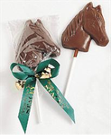 Chocolate Horse Lollipop