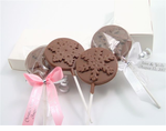 Chocolate Snowflake Lollipop