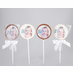 Christening/Baptism Photo Chocolate Favors