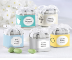 Christening Candy Tin Favors - Set of 12