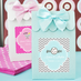 Christening Favor Bags Candy Boxes - Set of 12