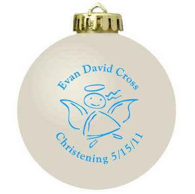 Christening Ornaments