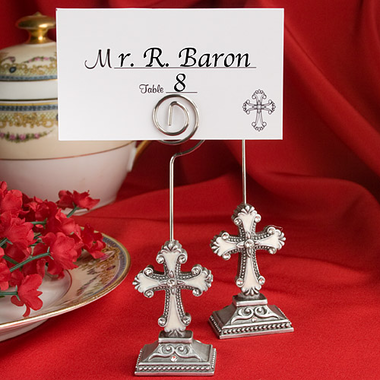 Christening Place Card Holders
