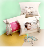Christening Rosary Favors - Personalized Wrap